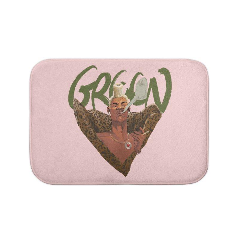 GREEN Home Bath Mat by Erica Fails at Merch