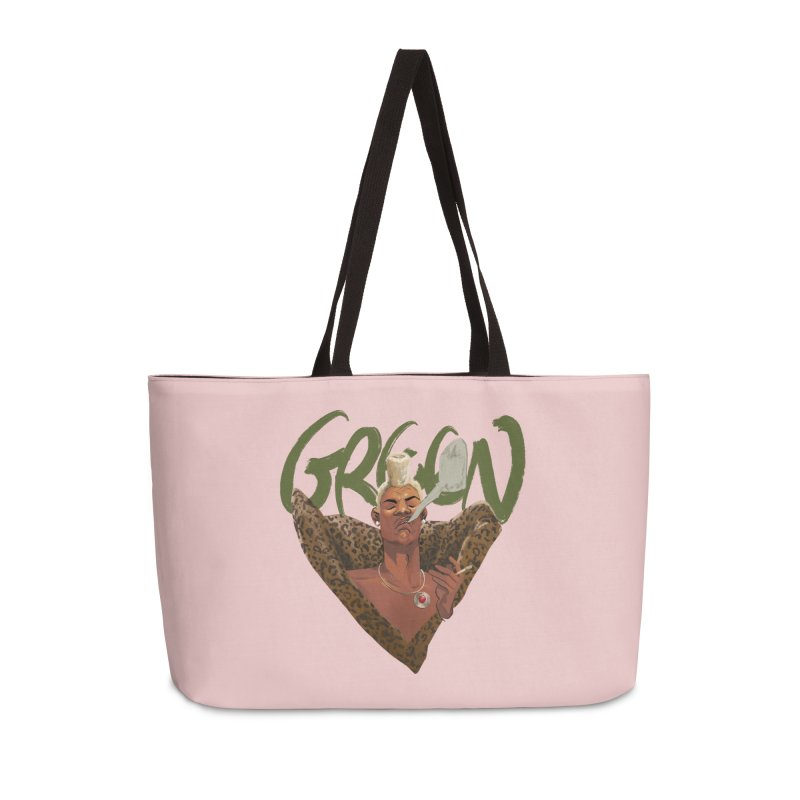 GREEN Accessories Bag by Erica Fails at Merch