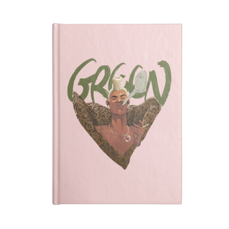 GREEN Accessories Notebook by Erica Fails at Merch