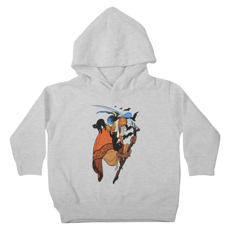 Autumn Chill Kids Toddler Pullover Hoody by Erica Fails at Merch