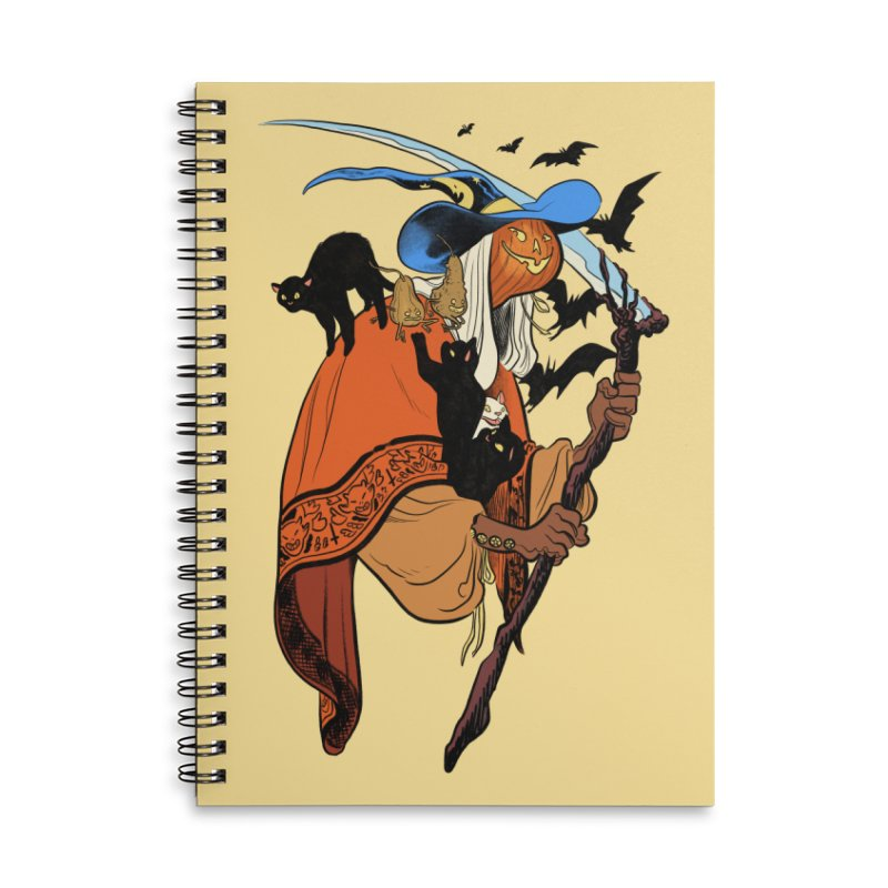 Autumn Chill Accessories Notebook by Erica Fails at Merch