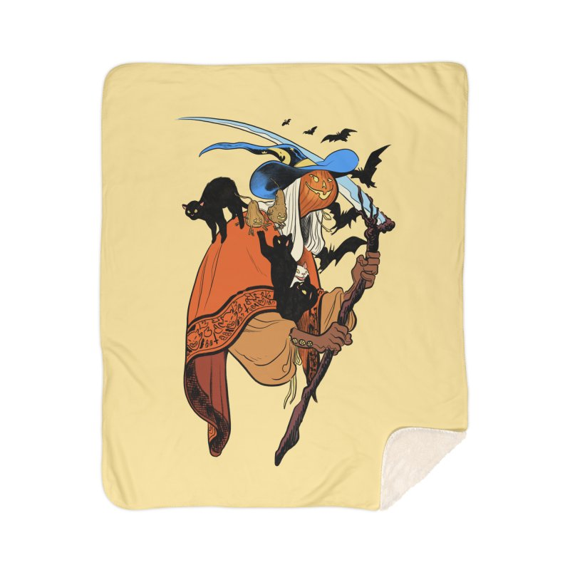 Autumn Chill Home Blanket by Erica Fails at Merch