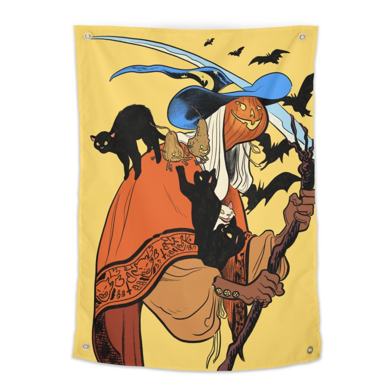 Autumn Chill Home Tapestry by Erica Fails at Merch