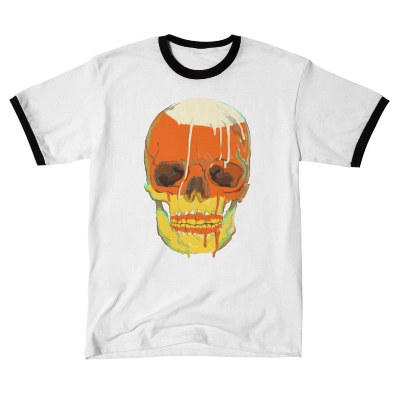 Candy Corn Cranium Women's T-Shirt by Erica Fails at Merch