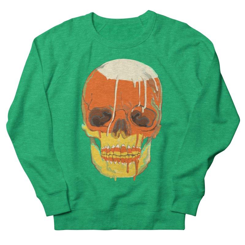 Candy Corn Cranium Women's Sweatshirt by Erica Fails at Merch