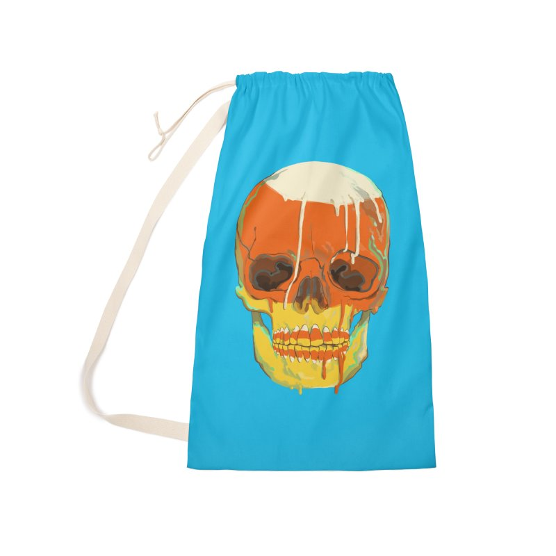 Candy Corn Cranium Accessories Bag by Erica Fails at Merch