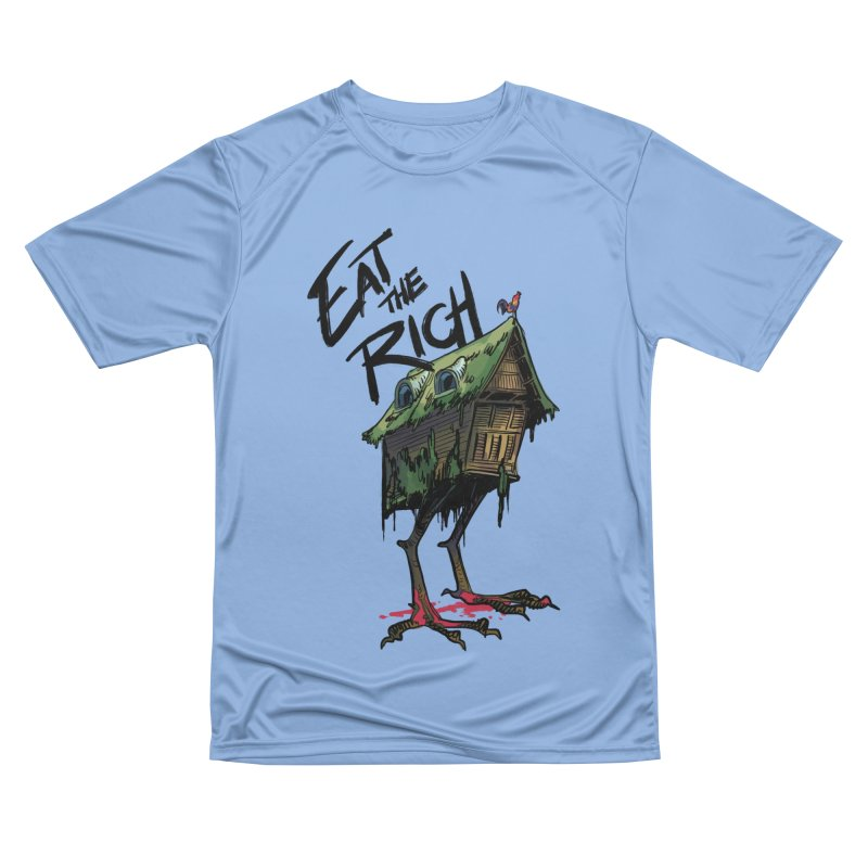 EAT THE RICH Women's T-Shirt by Erica Fails at Merch