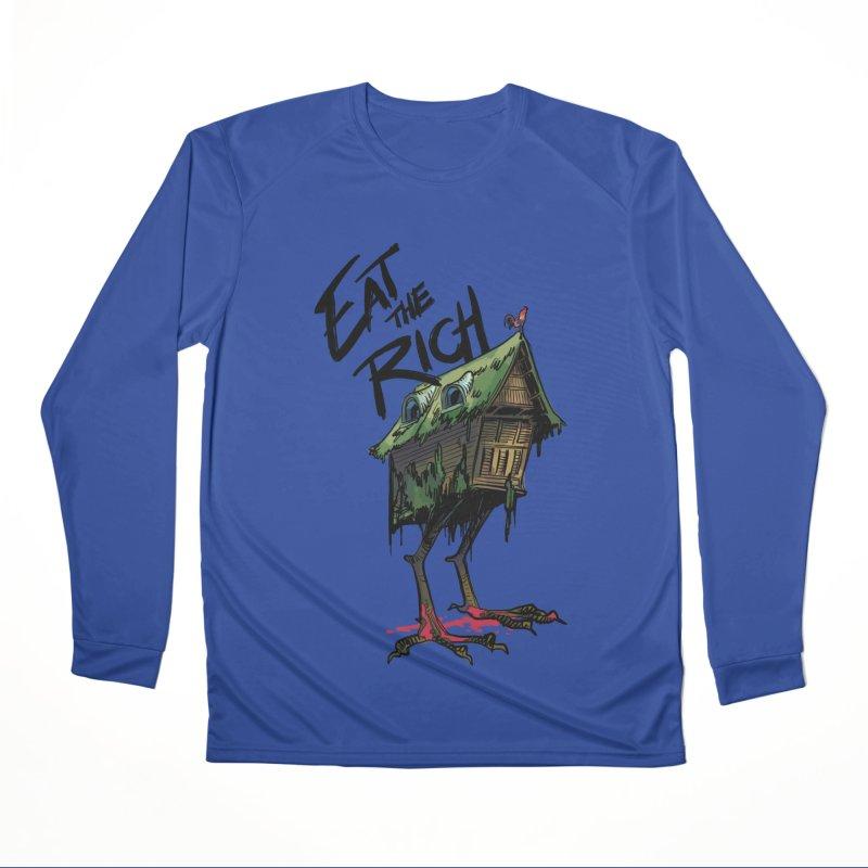 EAT THE RICH Women's Longsleeve T-Shirt by Erica Fails at Merch