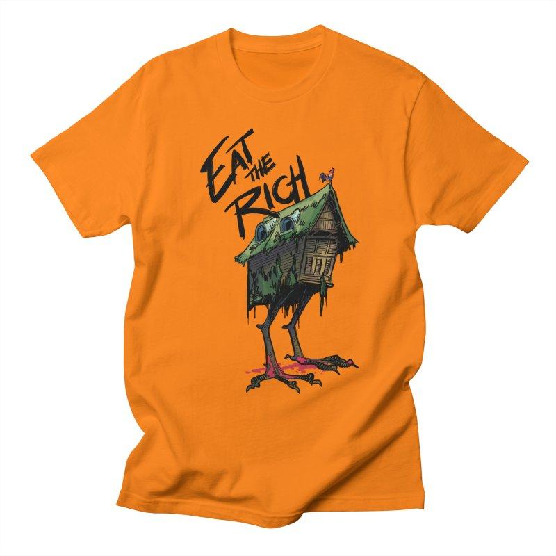 EAT THE RICH Men's T-Shirt by Erica Fails at Merch