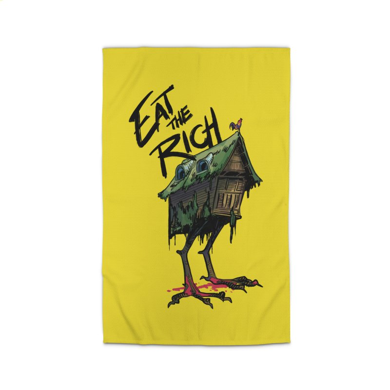 EAT THE RICH Home Rug by Erica Fails at Merch
