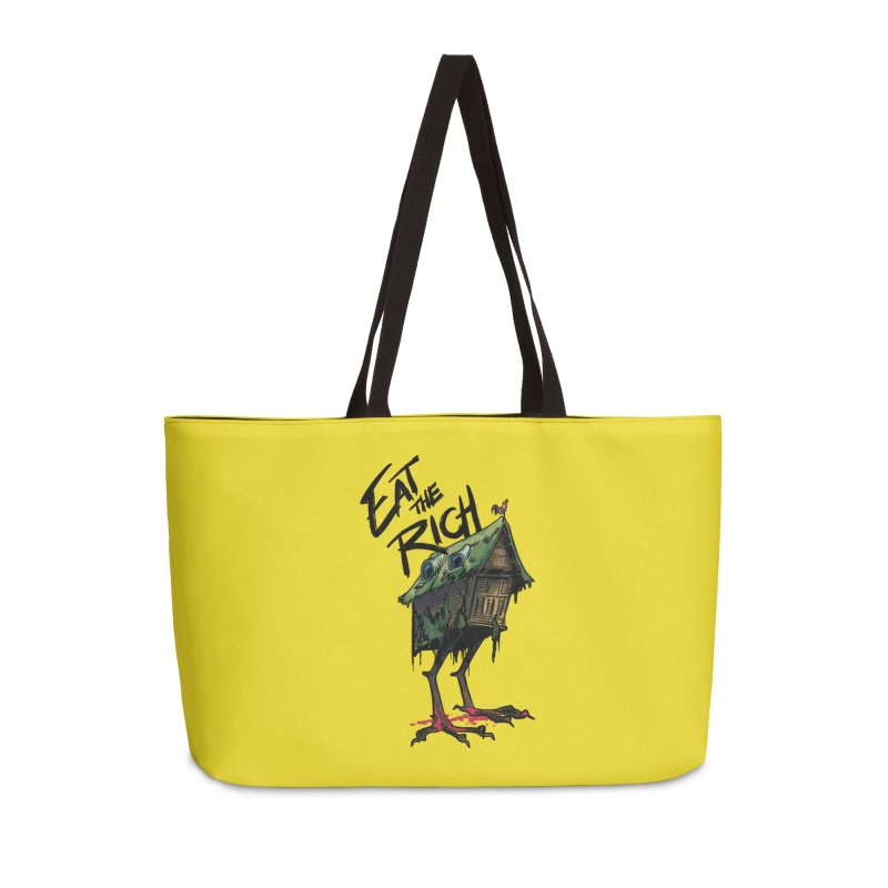 EAT THE RICH Accessories Bag by Erica Fails at Merch