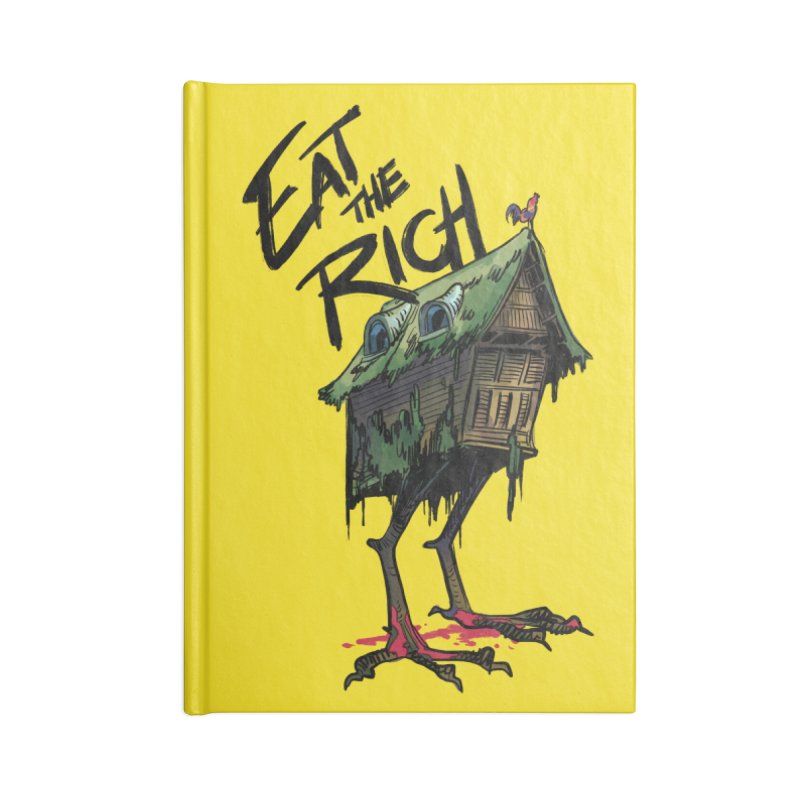 EAT THE RICH Accessories Notebook by Erica Fails at Merch