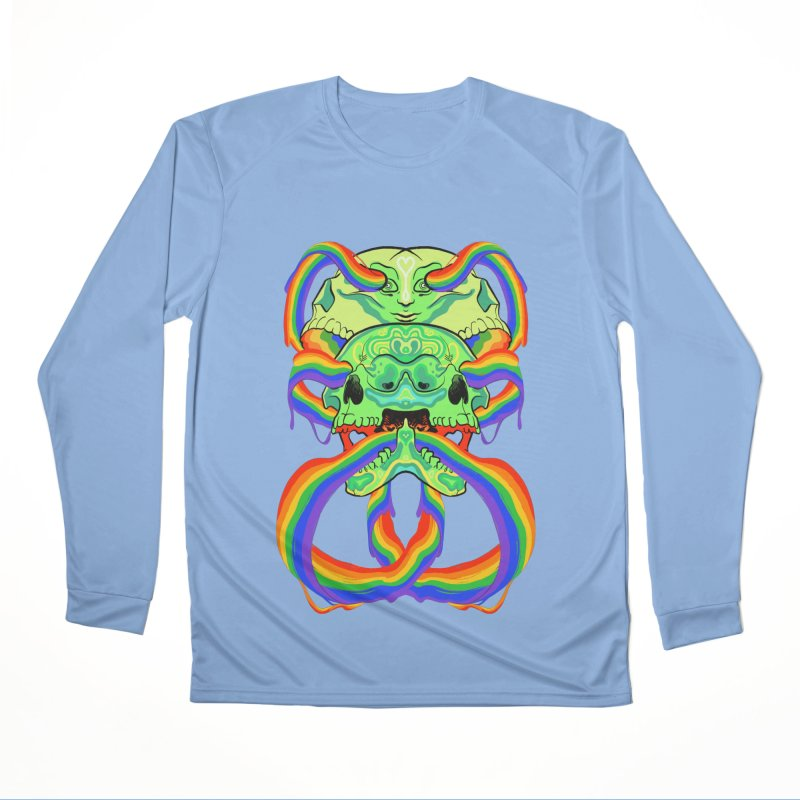 BARF SKULL Men's Longsleeve T-Shirt by Erica Fails at Merch
