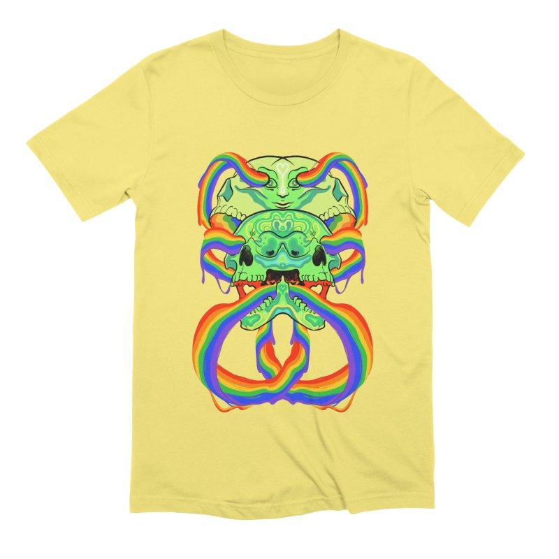 BARF SKULL Men's T-Shirt by Erica Fails at Merch