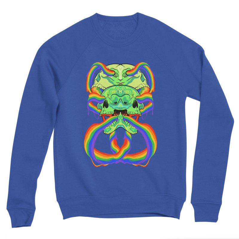 BARF SKULL Men's Sweatshirt by Erica Fails at Merch