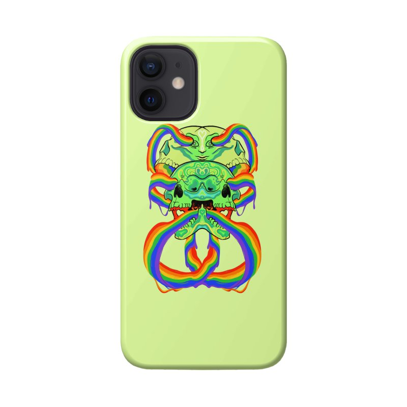 BARF SKULL Accessories Phone Case by Erica Fails at Merch