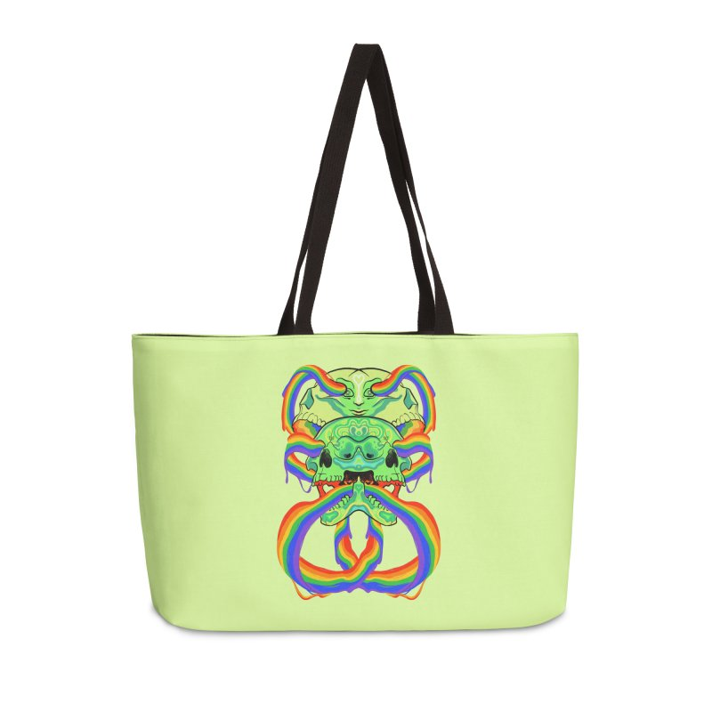 BARF SKULL Accessories Bag by Erica Fails at Merch