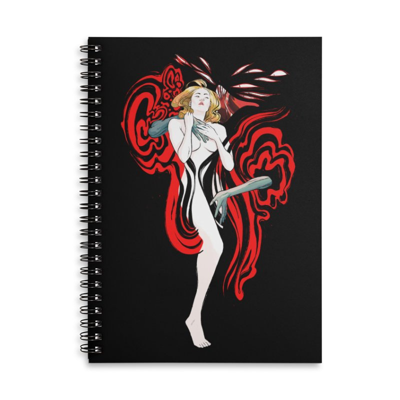 DRACULA, MOTHERF**KER! Accessories Notebook by Erica Fails at Merch