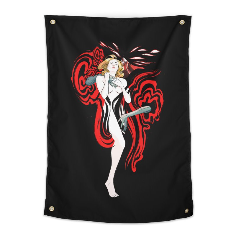 DRACULA, MOTHERF**KER! Home Tapestry by Erica Fails at Merch