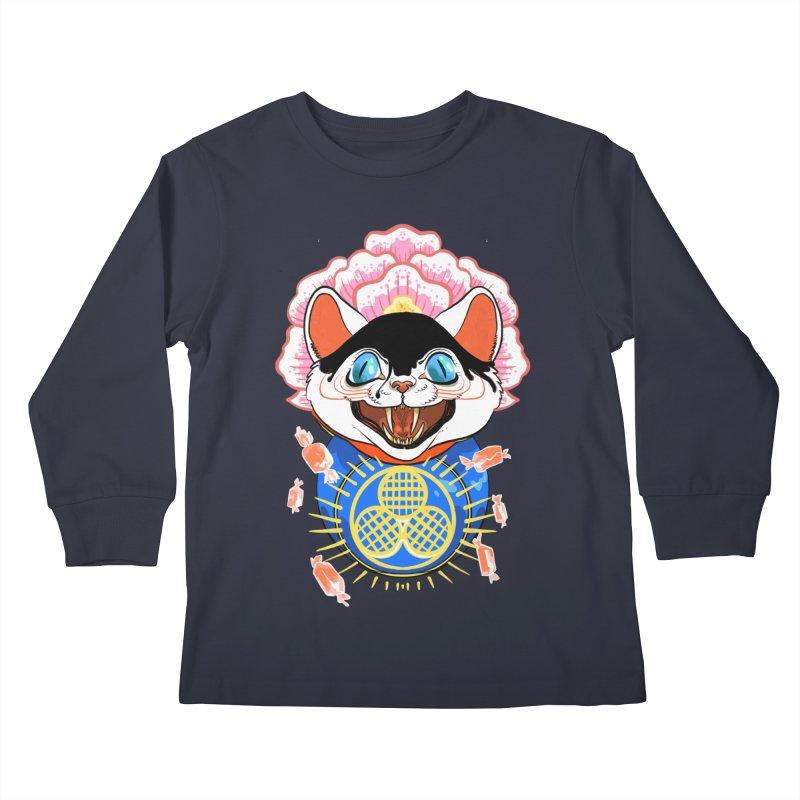 Botan Rice Candy Kids Longsleeve T-Shirt by Erica Fails at Merch
