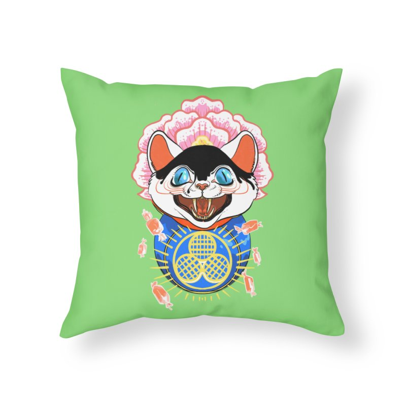 Botan Rice Candy Home Throw Pillow by Erica Fails at Merch