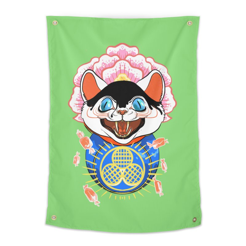 Botan Rice Candy Home Tapestry by Erica Fails at Merch
