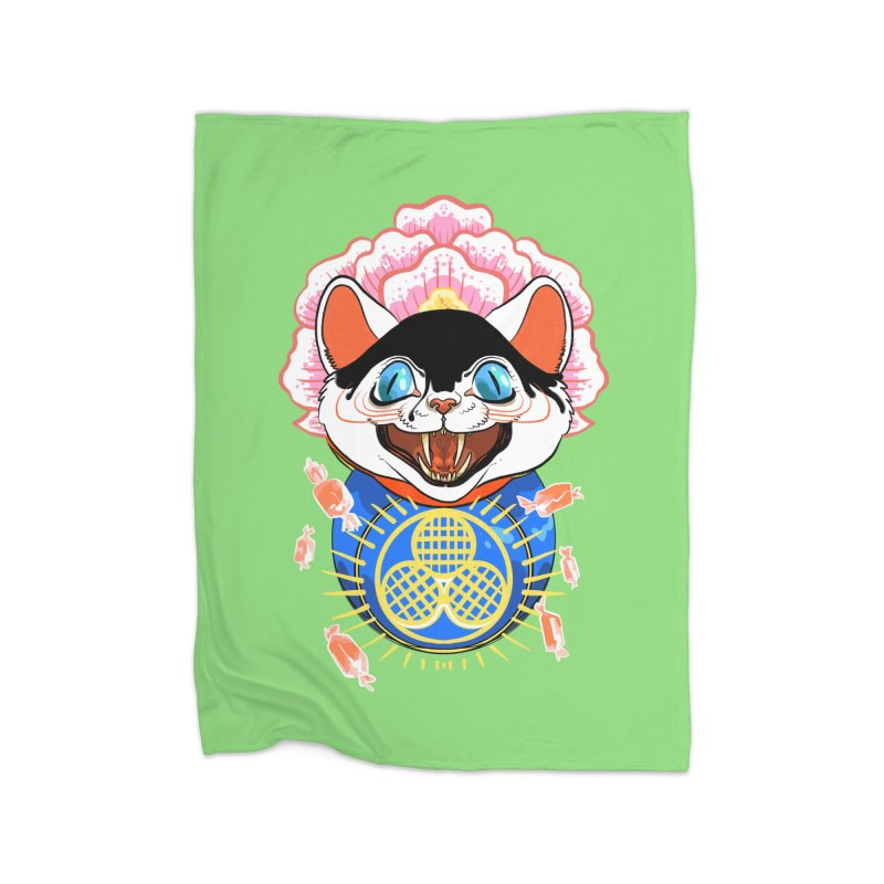 Botan Rice Candy Home Blanket by Erica Fails at Merch