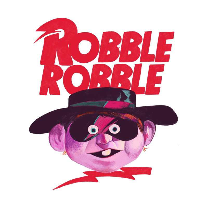 Robble Robble Women's V-Neck by Erica Fails at Merch