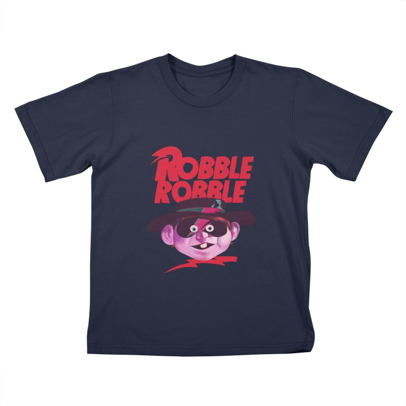 Robble Robble Kids T-Shirt by Erica Fails at Merch