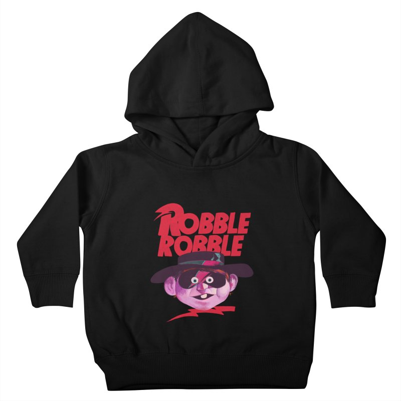 Robble Robble Kids Toddler Pullover Hoody by Erica Fails at Merch