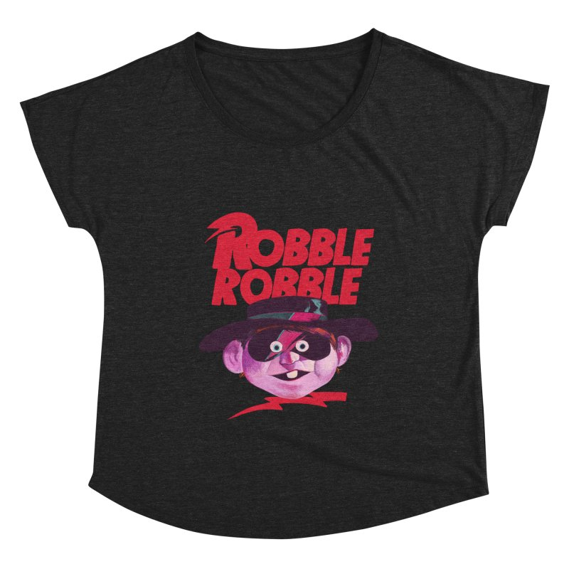 Robble Robble Women's Scoop Neck by Erica Fails at Merch