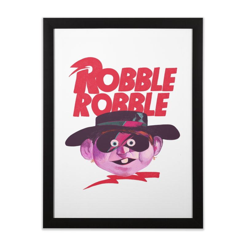 Robble Robble Home Framed Fine Art Print by Erica Fails at Merch