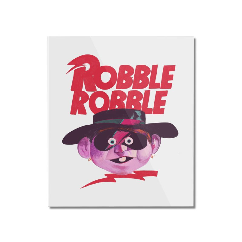 Robble Robble Home Mounted Acrylic Print by Erica Fails at Merch