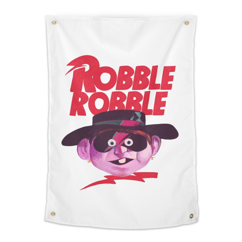 Robble Robble Home Tapestry by Erica Fails at Merch