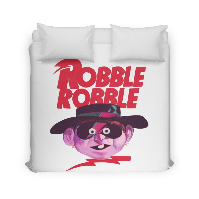 Robble Robble Home Duvet by Erica Fails at Merch