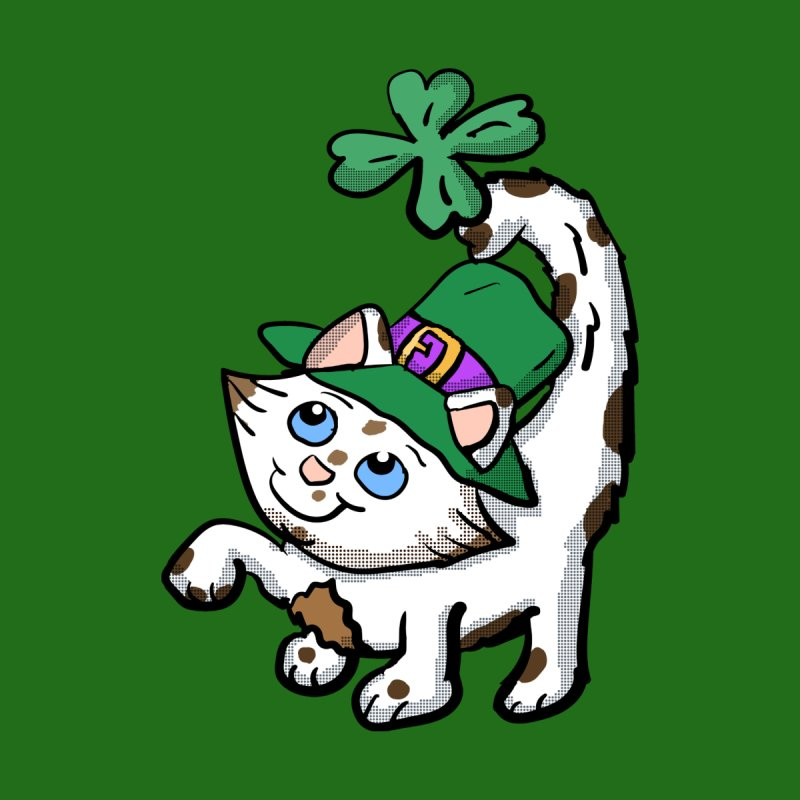 Irish Kitten  Women's Fitted T-Shirt by ericallen's Artist Shop