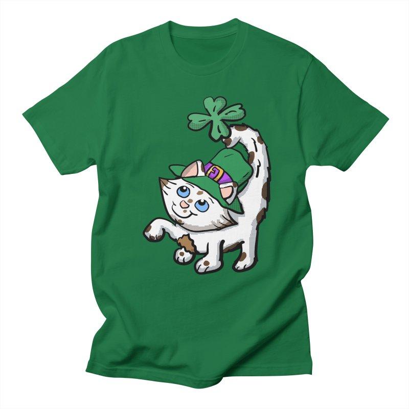Irish Kitten  Men's T-shirt by ericallen's Artist Shop