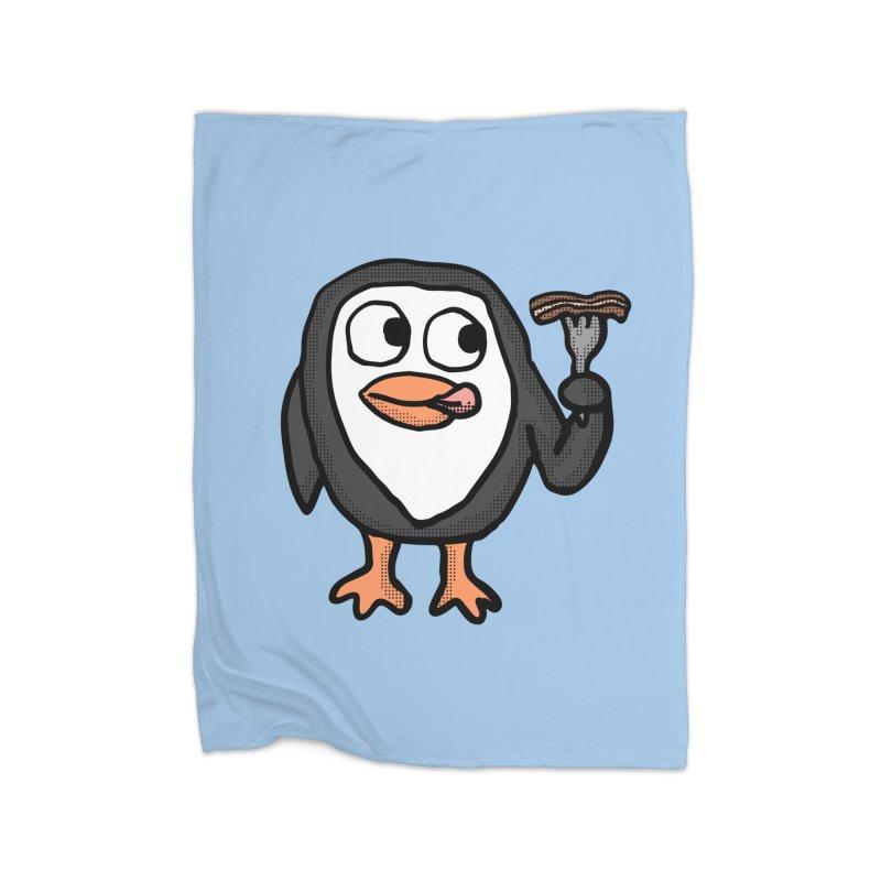 Bacon Lovin Penguin    by ericallen's Artist Shop