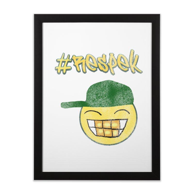 Vintage #Respek Smiley   by ericallen's Artist Shop