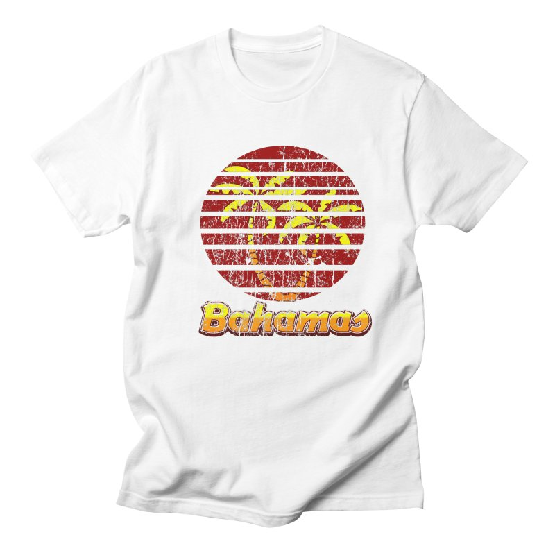 Retro Bahamas Logo Men's T-shirt by ericallen's Artist Shop