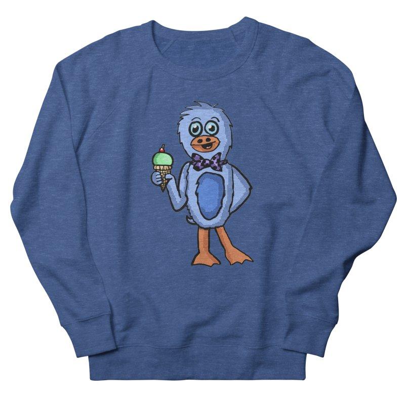 Sweet Tooth Penguin  Men's Sweatshirt by ericallen's Artist Shop