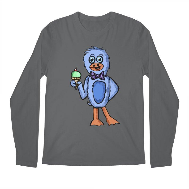 Sweet Tooth Penguin  Men's Longsleeve T-Shirt by ericallen's Artist Shop