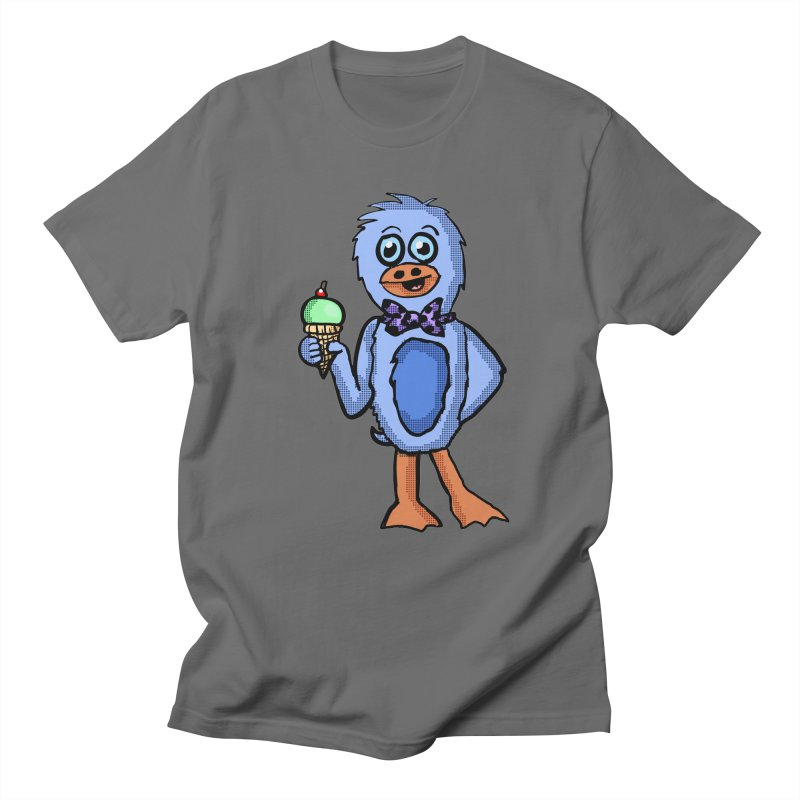 Sweet Tooth Penguin  Men's T-Shirt by ericallen's Artist Shop