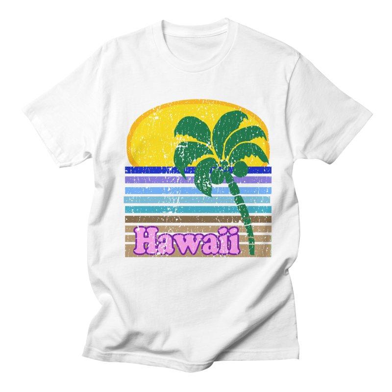 Retro Hawaii Design  Men's T-shirt by ericallen's Artist Shop