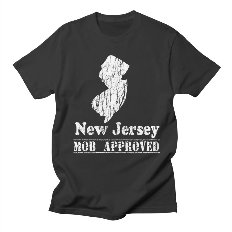Vintage New Jersey Humor  Men's T-shirt by ericallen's Artist Shop
