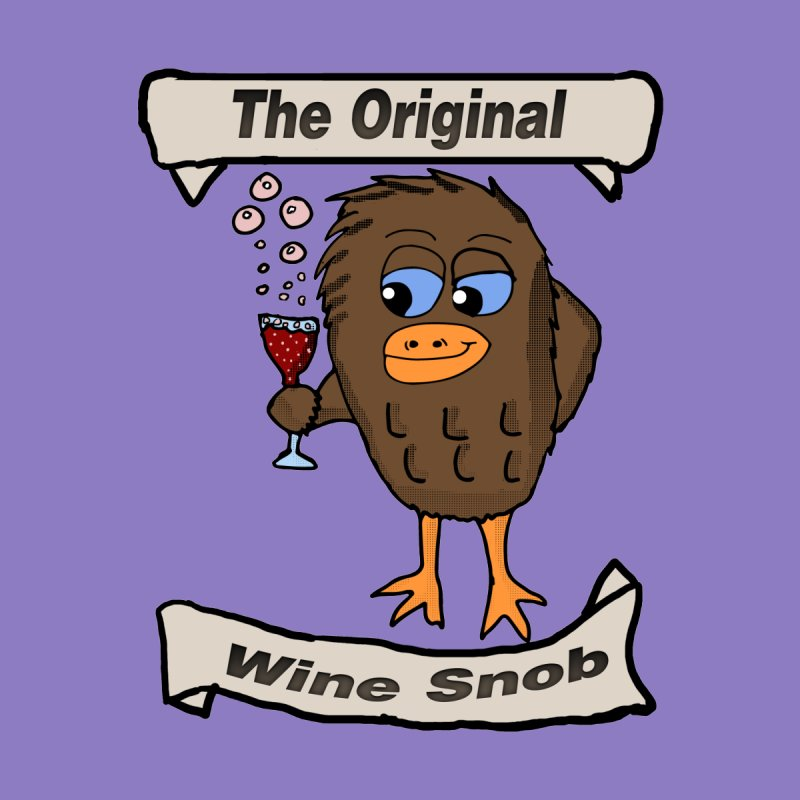 The Original Wine Snob  Men's T-shirt by ericallen's Artist Shop