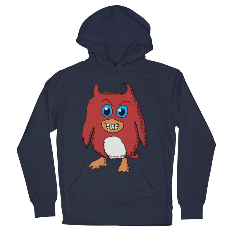 Cute Evil Red Penguin Women's Pullover Hoody by ericallen's Artist Shop