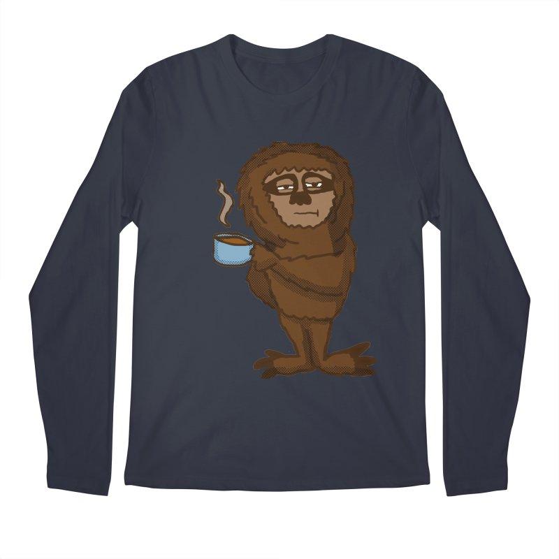 Groggy Sloth  Men's Longsleeve T-Shirt by ericallen's Artist Shop
