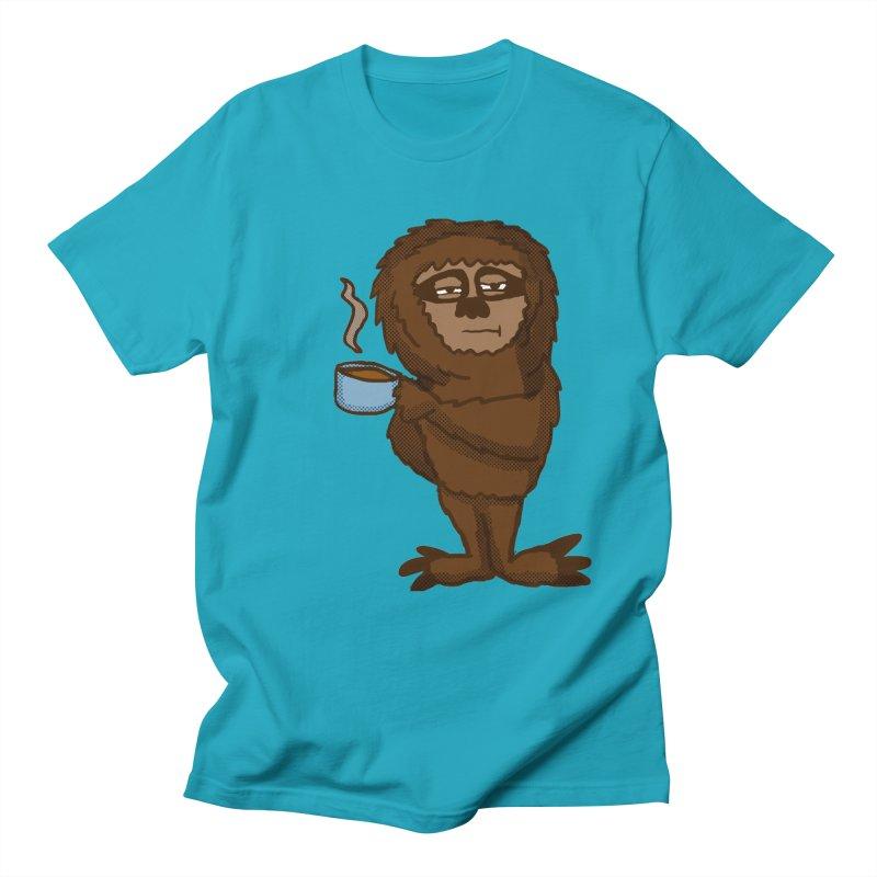 Groggy Sloth  in Men's T-shirt Cyan by ericallen's Artist Shop