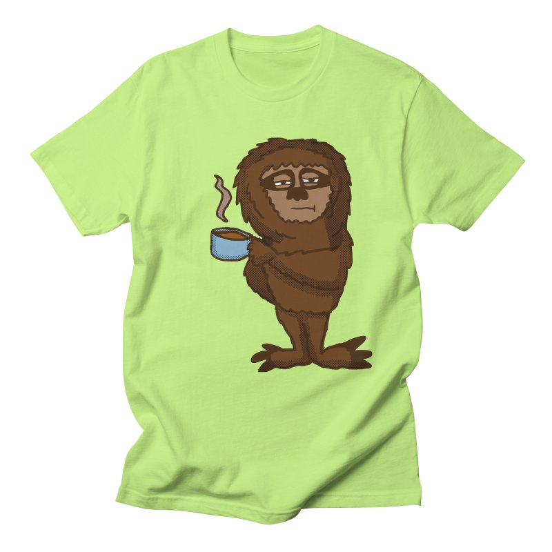Groggy Sloth  Men's T-shirt by ericallen's Artist Shop